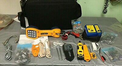 Fluke Networks TS30 Lineman's Test Set with extras