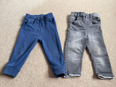 Toddler Boys 2 Pairs - Jean And Jogger 18-24 Months From Tu