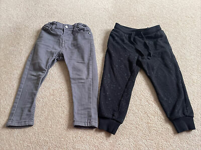 Toddler Boys 2 X Pairs - Jean And Jogger Age 2-3 From H&M