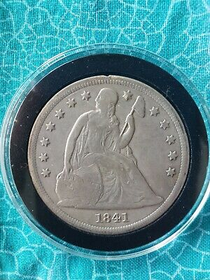 1941 Liberty Seated Silver Dollar  Very Rare, Only 173,000 Minted