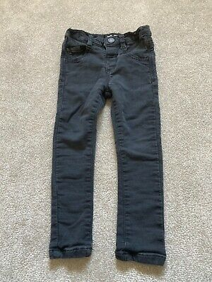 Boys Next Black Skinny Jeans - Age 2-3 Years - Good Condition