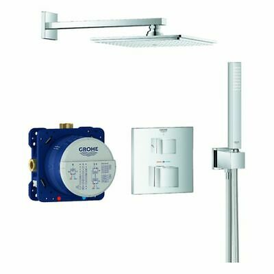 Grohe UP Duschsystem Grohtherm Cube 34741 (chrom) Kopfbrause, Thermostat