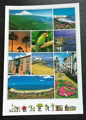 Tenerife; Used; Posted; Post Date On Card 2016
