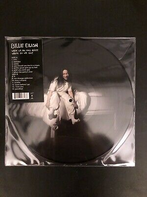 BILLIE EILISH When We All Fall Asleep Where DoWeGo Picture pressed Vinyl Spotify