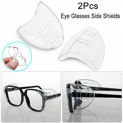 Safety Eye Glasses Side Shields Dustproof Protect Eyes Glasses Safe Protection