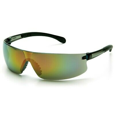 Pyramex Provoq Safety Sunglasses With Multi-Color Mirror Lens Z87.1