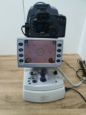 NIDEK Non Mydriatic Auto Fundus retinal Camera AFC-210 and canon - free software
