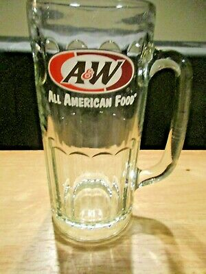 A & W Tall Glass Root Beer Mug