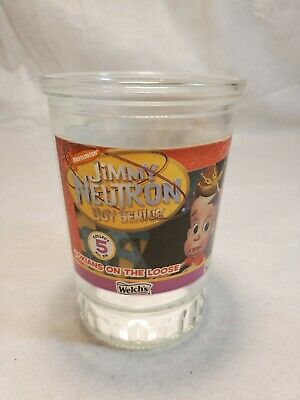 Welch's Jimmy Neutron Jelly Jar Collectors Series Glass Number 5 Of 6 (1 Glass)