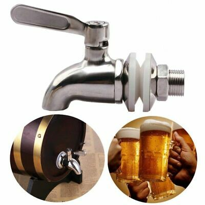 Stainless Steel Faucet Tap Draft Beer Faucet for Home Brew Fermenter Wine Draft
