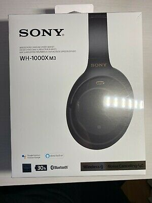 *New Sealed* SONY WH-1000XM3 Wireless Noise-Canceling Over-Ear Headphones Black