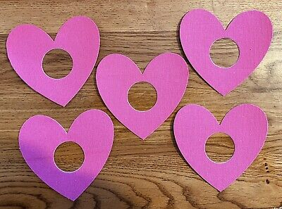 Freestyle libre Patches X5 pink hearts