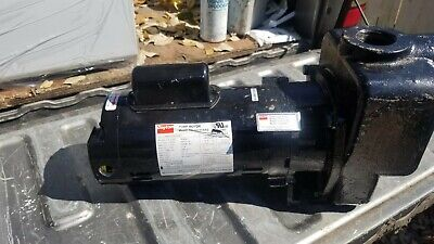 "DAYTON 4UA65A Centrifugal Self Priming Pump 1.5""NPT 1HP PPLTAD21SAG;local pickup"