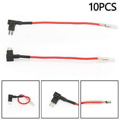 10PCS Circuit Piggy Back Pluggable MICRO2 M2 Blade Tap Portafusibili IT