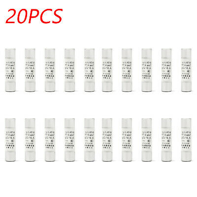 20x RO15 Ceramics Tube Delayed Type Household Appliances FUSE 10x38mm 16A IT