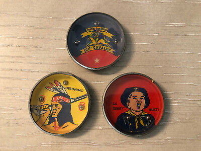 VINTAGE NABISCO SHREDDED WHEAT JUNIORS TIN TOY GAMEs Set Of 3VERY GOOD CONDITION