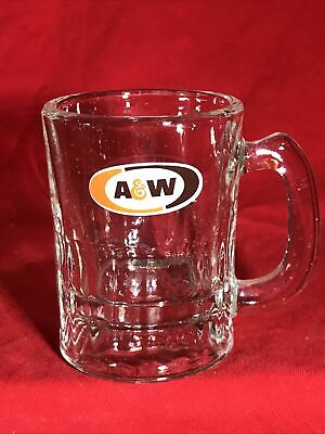 Vintage A&W Mini Root Beer Mug 3.5""