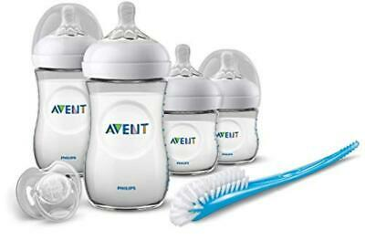 Philips Avent SCD301/01 Set Prime Poppate Natural, Kit Composto da 4 Biberon/1 C