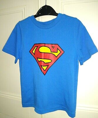 Boy's Superman T Shirt 3-4 Years