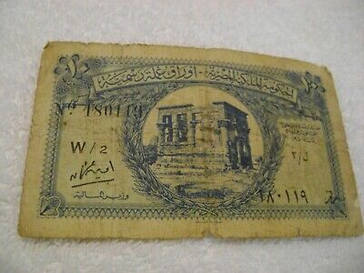 EGYPT( 1940)-10 PIASTRES-Circulated Banknote-