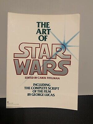 First Edition, 1979. The Art Of STAR WARS, Softcover. 0345282736.