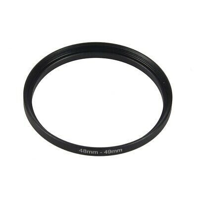 2X(48mm to 49mm Camera Filter Lens 48mm-49mm Step Up  Adapter E3W9)