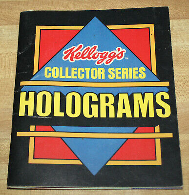Kellogg's Collector Series Holograms Booklet With Rice Crispies Hologram