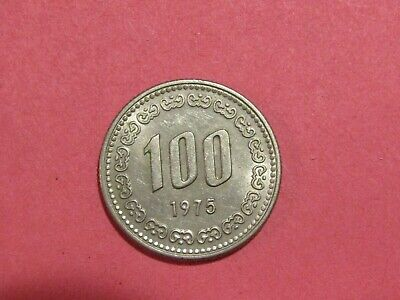 South Korea 1975 100 Won Coin