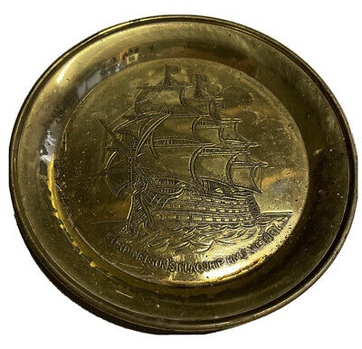 Lord Nelson HMS Victory Saucer/Ashtray