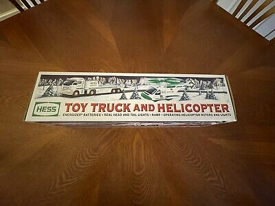 Vintage 2006 Hess Toy Truck and Helicopter NIB