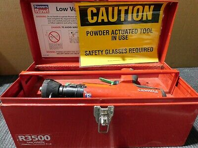 Powers Fasteners R3500 Low Velocity Powder Actuated Fastening tool (D25)