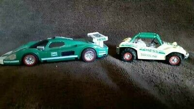 Hess Gasoline Dune Buggy/HESS Race Car 1998 Battery Operated Vehicle Lights Toy