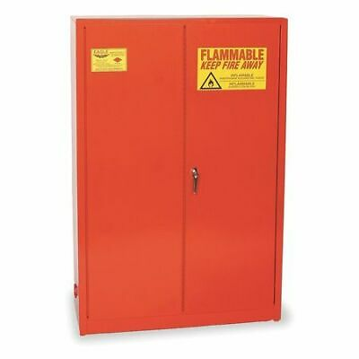 EAGLE PI45X Paints and Inks Cabinet, 60 gal., Red