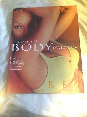 Vintage Victoria's Secret London Spring Fashion Issue.Vol.2No1.Klum,Banks,More >
