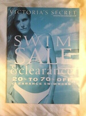 Vintage Victoria's Secret Swim Sale 2000.Klum,Tyra Banks,Latitia Casta.More >
