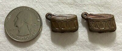 Lot of 2 Snare Drums Vintage Cracker Jack Gumball Machine Charm Prize #35337