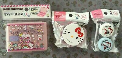 Sanrio Kawaii Sanrio Characters pill case Hello Kitty Cream case set Japan