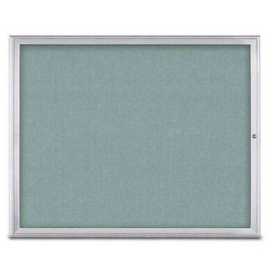 UNITED VISUAL PRODUCTS UV800448-SATIN-CLOUD Single Door Radius