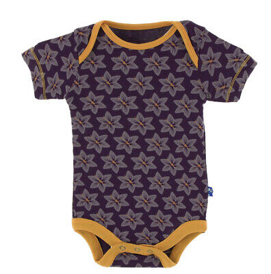 Kickee Pants Bamboo Overall One-Piece Topiary Design NWT 18-24 Months Size