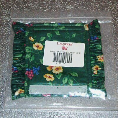 Longaberger Handle Gripper Only NEW Heritage Green Button Style 3 Available