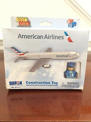 5 FEDEX EXPRESS BEST LOCK CONSTRUCTION TOY NEW MADE BY DARON 55