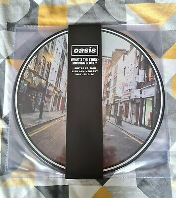 Oasis whats the story morning glory 25th Anniversary 2LP Picture Disc MINT new