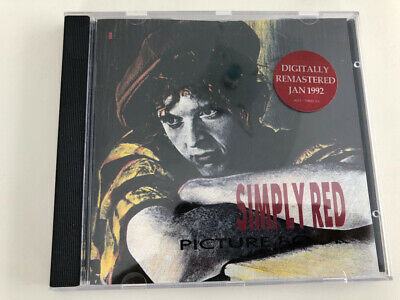 CD Simply Red - Picture Book - digitally remastered 1992, very good condition