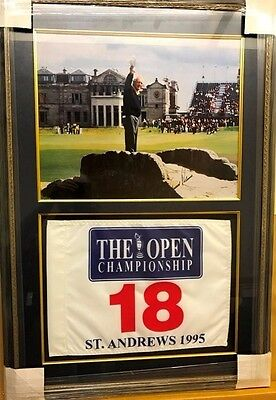 Arnold Palmer 1995 Autographed  Collage Farewell To The British Open