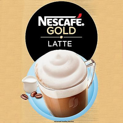 incup Gold Latte by Nescafe 73mm in cup vending machine drinks Darenth Klix
