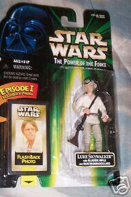 Star Wars The Power of the Force Luke Skywalker NIP