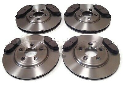 Jaguar S Type S-Type 2.5 3.0 V6 4.0 Front & Rear Brake Discs & Pads Check Size