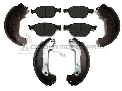 FORD TRANSIT CONNECT 1.8 DI TDCi FRONT BRAKE DISC PADS & REAR SHOES SET NEW