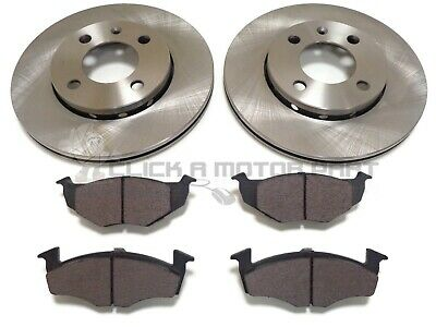 Vw Polo & Vw Lupo 1995-2001 Most Models Front 2 Brake Discs And Pads Check Size