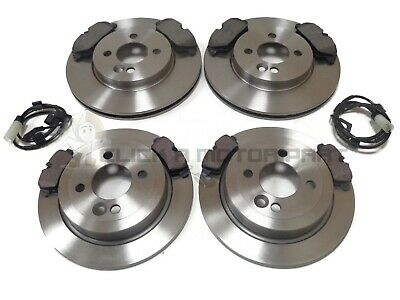 Mini R56 One Cooper 1.6  06-13 Front And Rear Brake Discs & Pads & Sensors